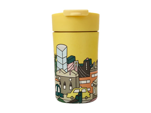 MW Megan McKean Cities Double Wall Insulated Cup 350ML New York