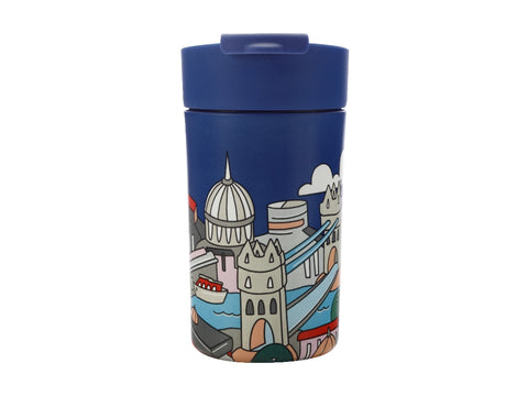 MW Megan McKean Cities Double Wall Insulated Cup 350ML London