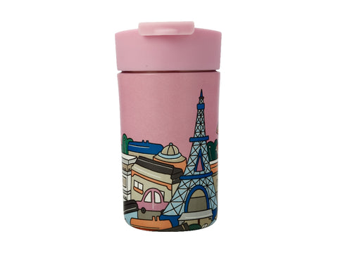MW Megan McKean Cities Double Wall Insulated Cup 350ML Paris