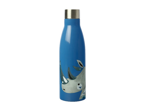 MW Pete Cromer Wildlife Double Wall Insulated Bottle 500ML Rhino