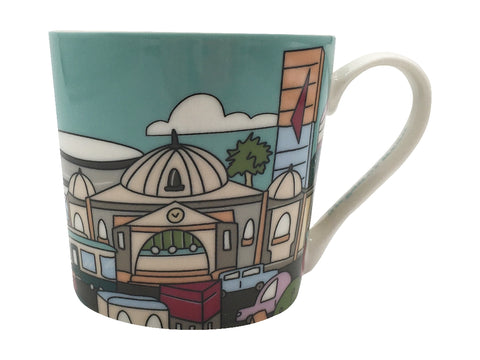 MW Megan McKean Cities Mug 430ML Melbourne Gift Boxed