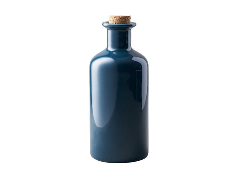 MW Epicurious Oil Bottle Cork Lid 500ML Teal Gift Boxed