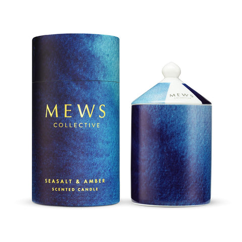 PG MEWS CANDLE 320G SEASALT & AMBER