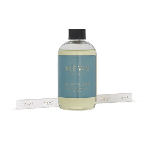 MEWS SEASALT AND AMBER DIFFUSER REFILL 500ML