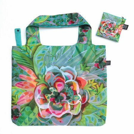 ALLEN DESIGNS BIG FLOWER FOLDABLE BAG