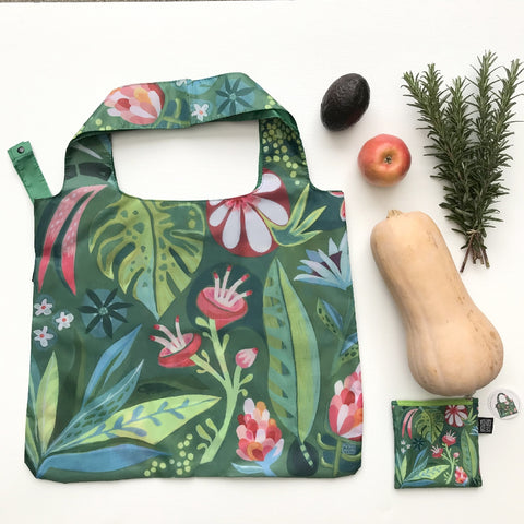 ALLEN DESIGNS GREEN THUMB FOLDABLE BAG