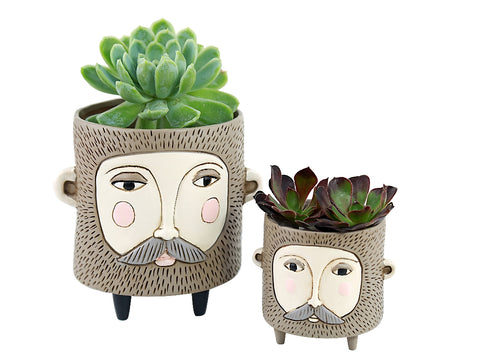 ALLEN DESIGNS BABY HAIRY JACK PLANTER