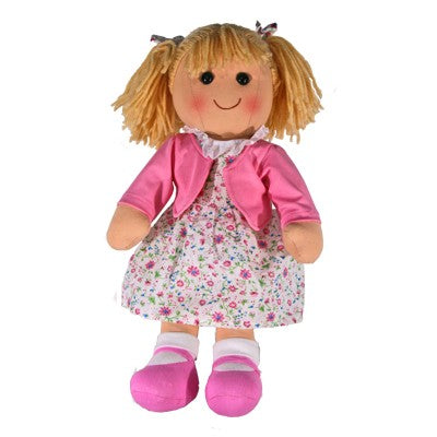 HOPSCOTCH PEGGY DOLL PINK FLOWER DRESS