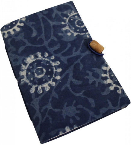 LV NOTEBOOK BLUE BATIQ