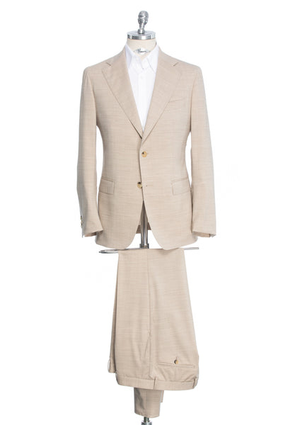 Tailored fit two-piece suit