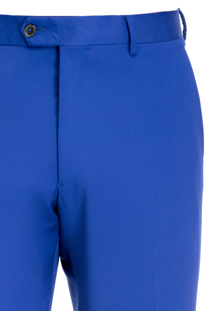 Pantaloni Business Albastru Royal