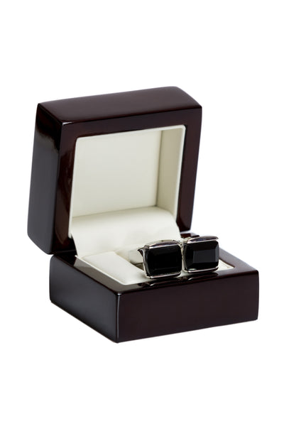 Black Gemstone Cufflinks