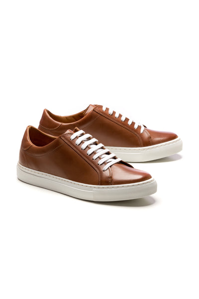 Sneakers Brown Natural Leather