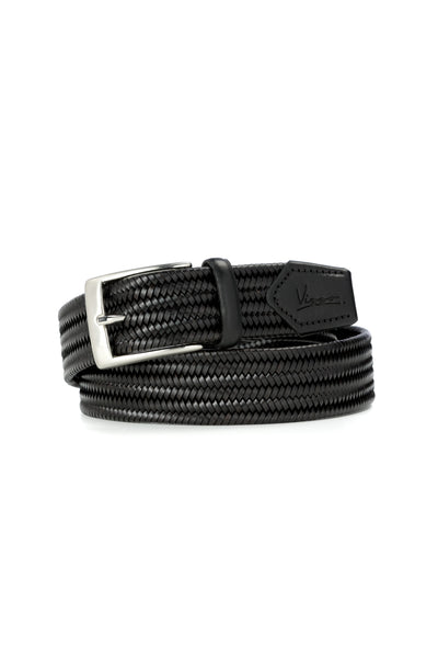Black Braided Belt