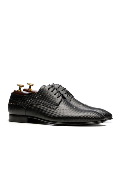 Black Tuxedo Shoes With Targets