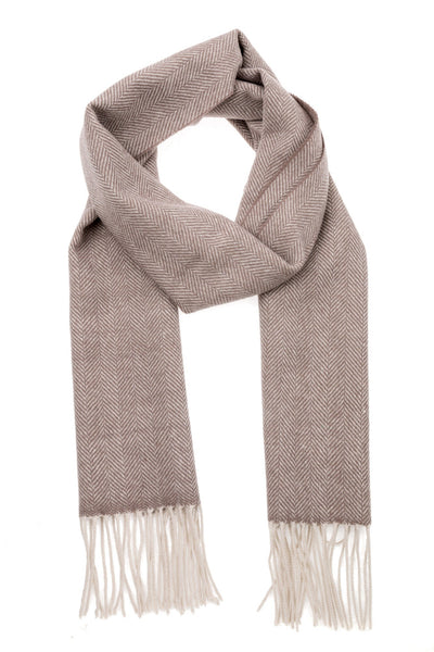 Wool Cream Scarf