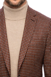 Lewis Brown Plaid Jacket