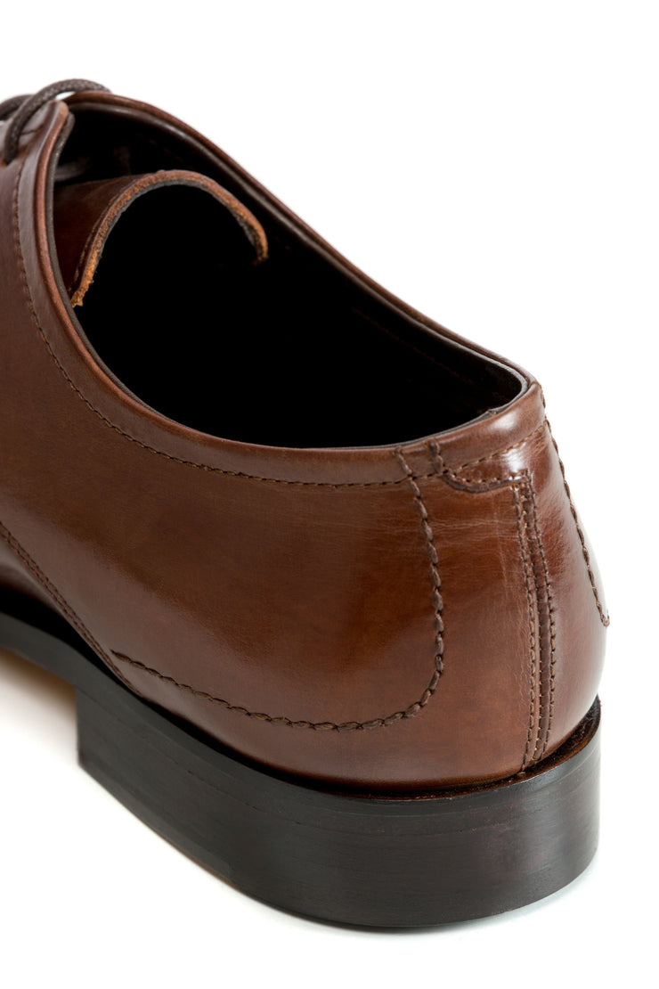 Cognac Derby Shoes