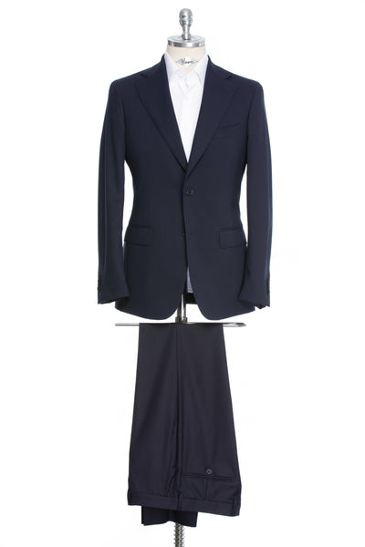 Two-piece slim fit suit