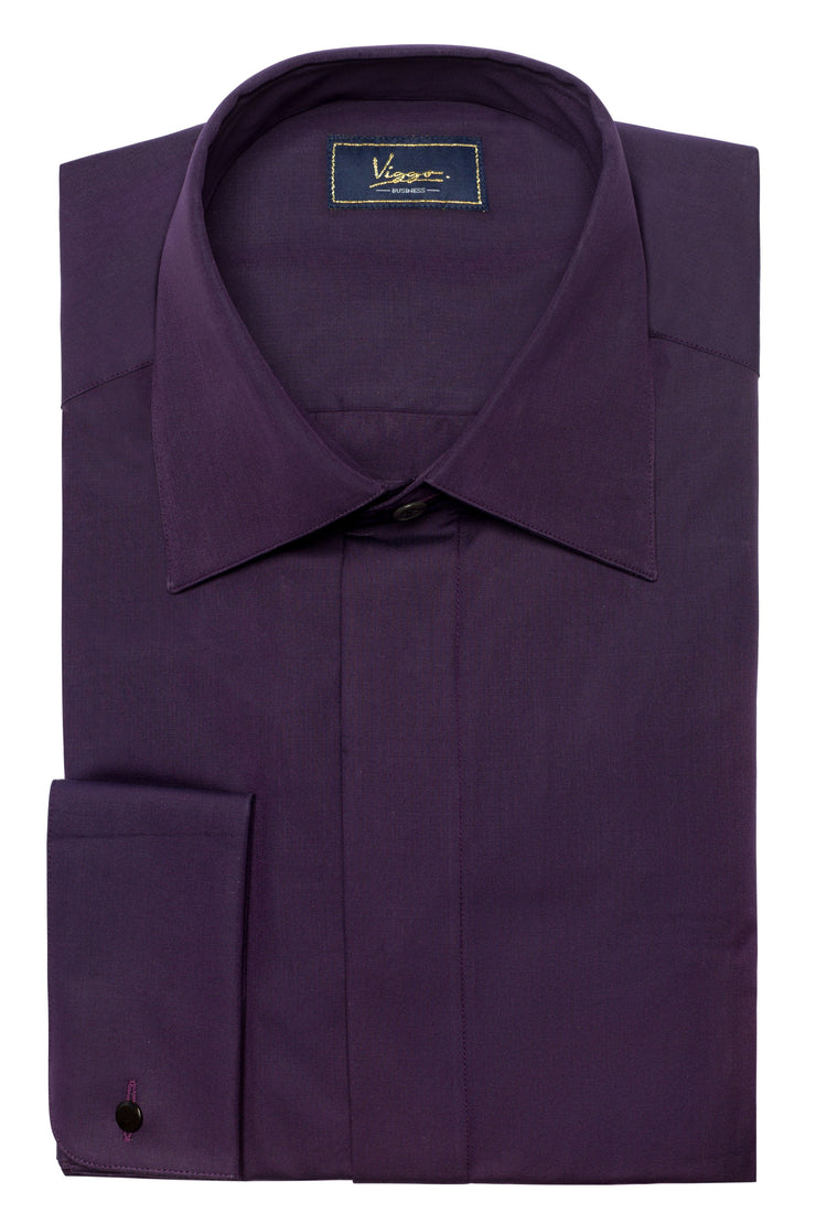 Camasa Purple Plain