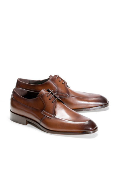 Brown Suit Shoes With Lace
