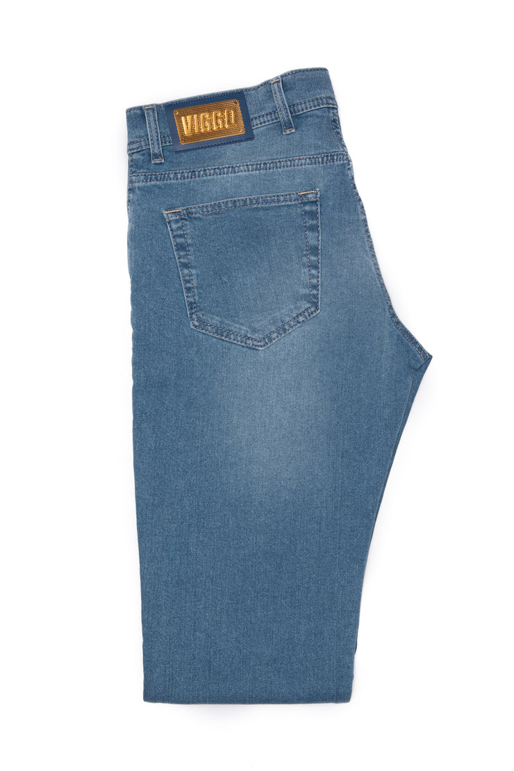 Jeans bleu slim fit monkey