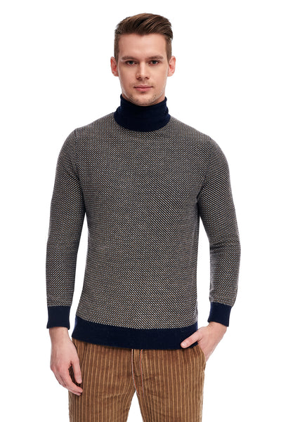 Alpaca Wool Neck Sweater