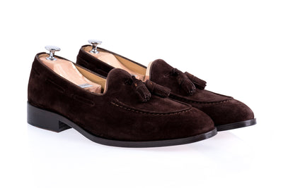 Blake Brown Suede Loafers