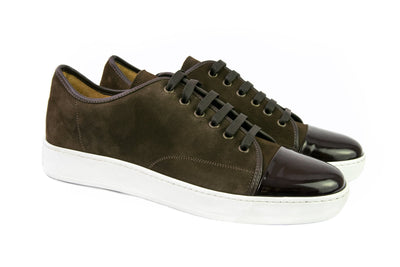 Brown Leather Sport Shoes