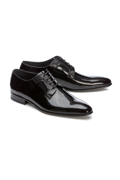 Textured Derby Tuxedo Shoes