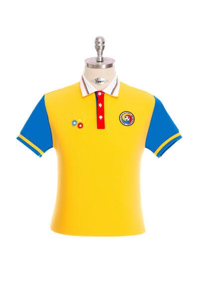 Yellow National Football Team T-shirt