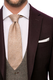 Sacou burgundy tailored fit