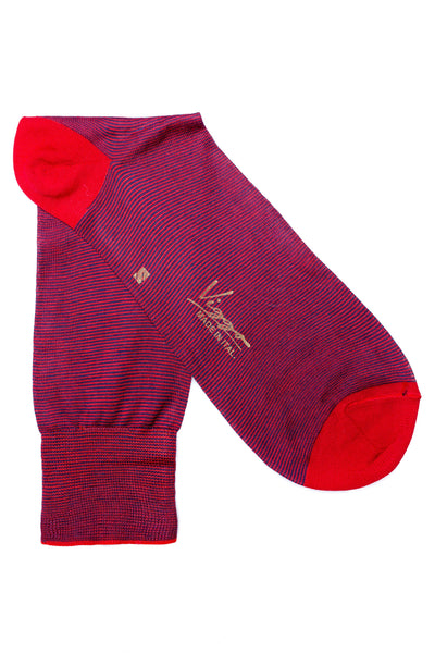 Red Striped Socks