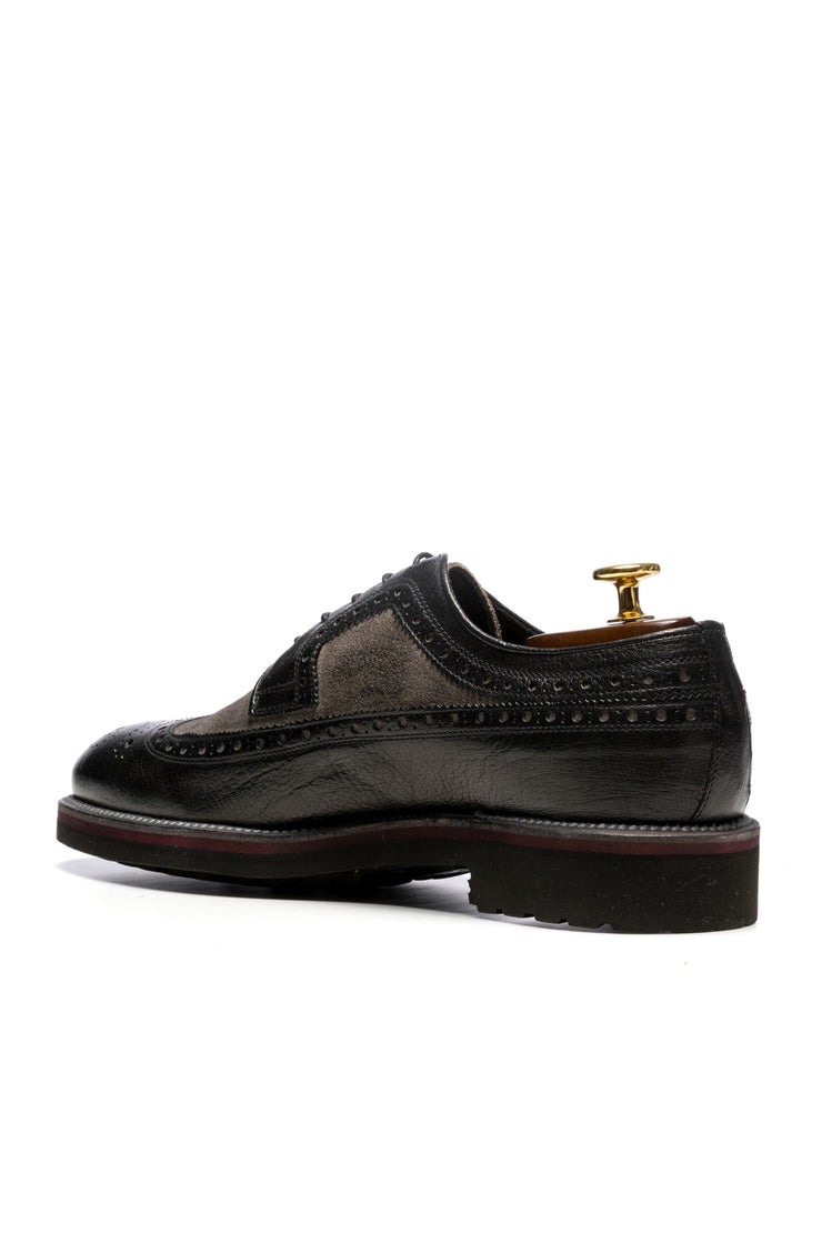 Pantofi Business Negri Model Derby