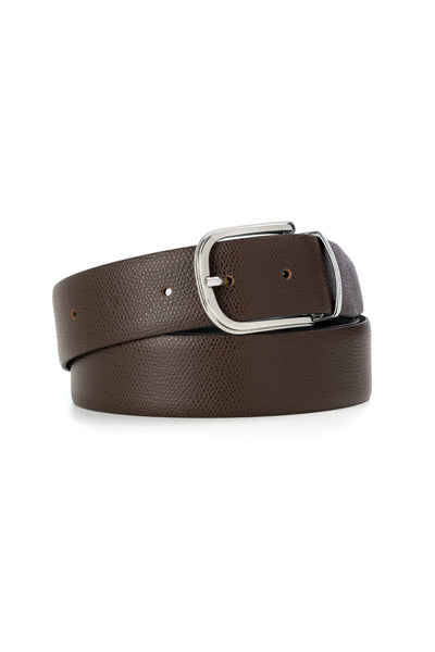 Brown / Navy Business Belt