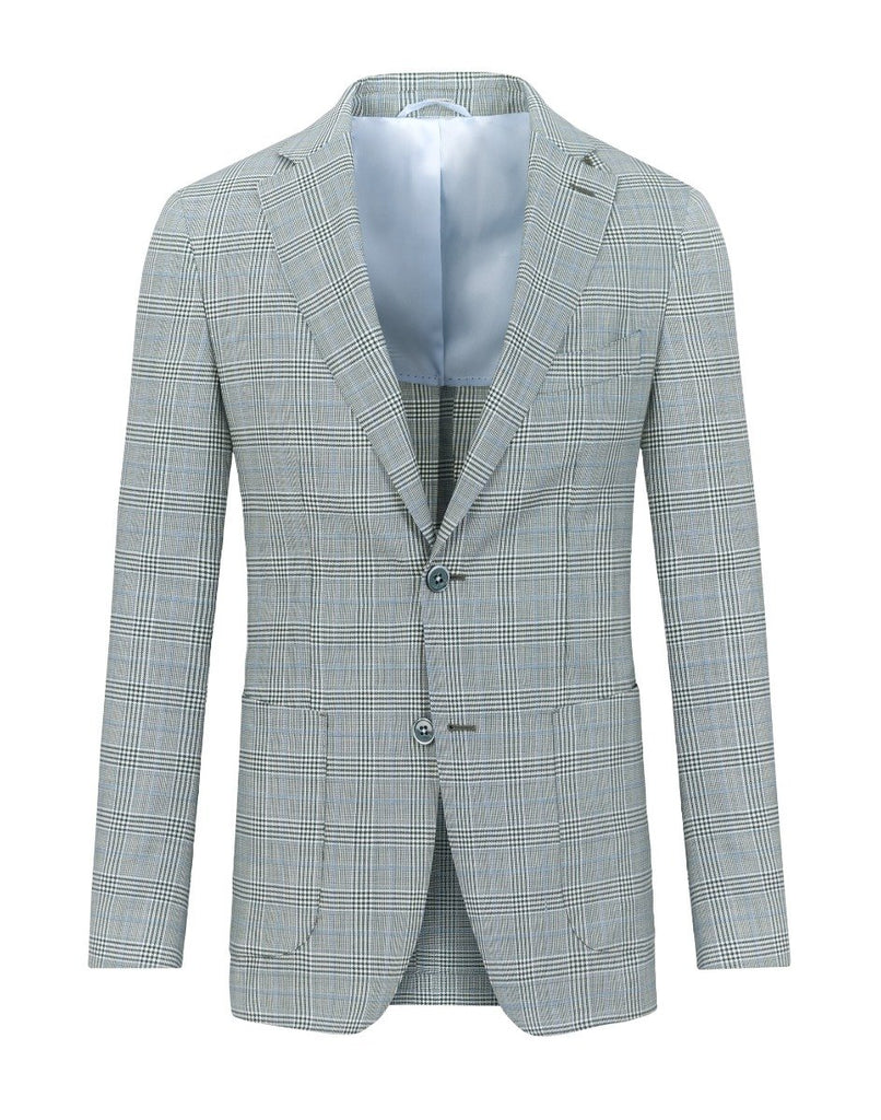 Smart Jacket Verde In Carouri