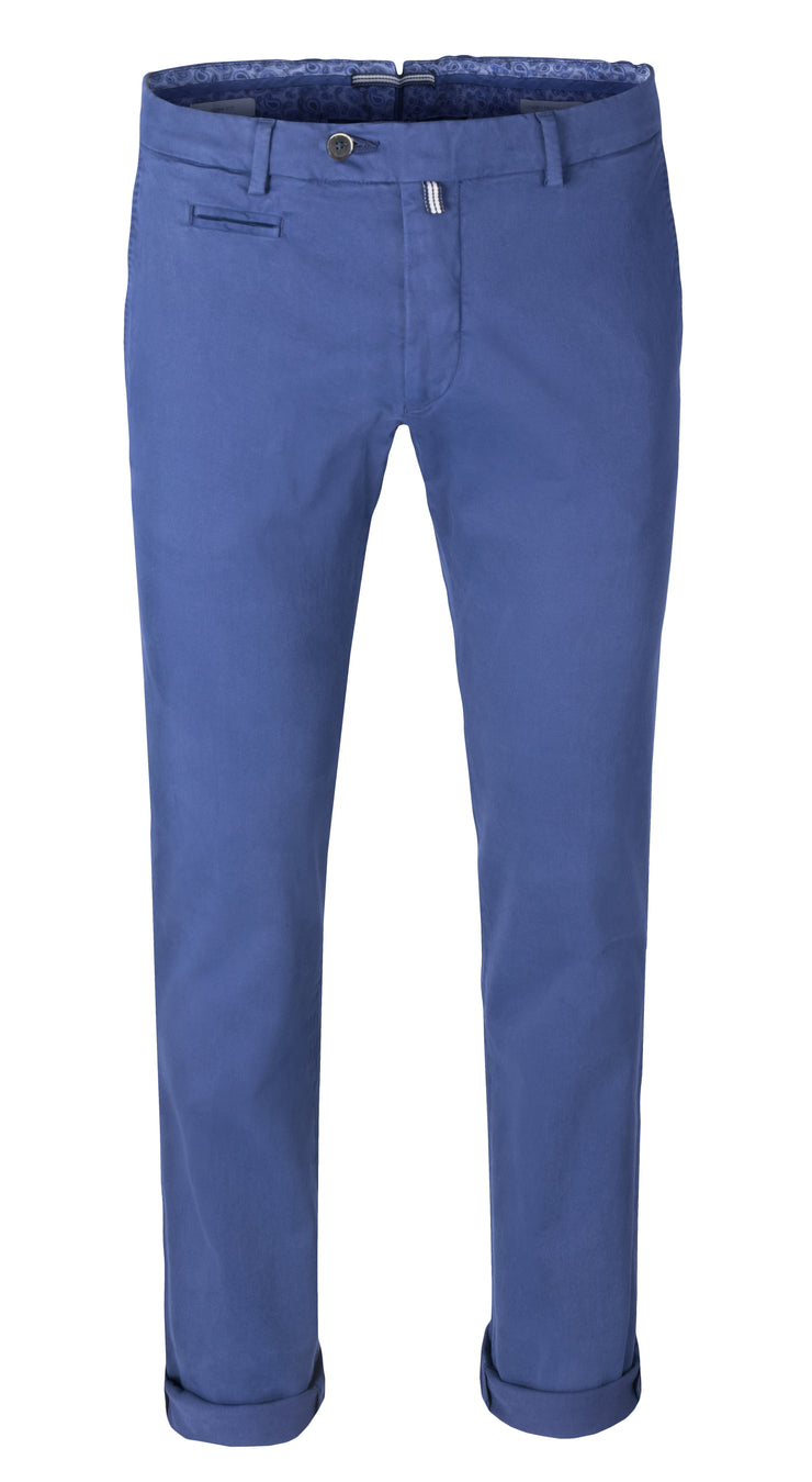 Chinos Albastru Regal