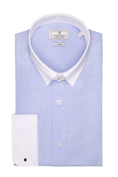 Business shirt Blue Guler Tab