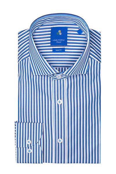 Egyptian Cotton Striped Casual Shirt