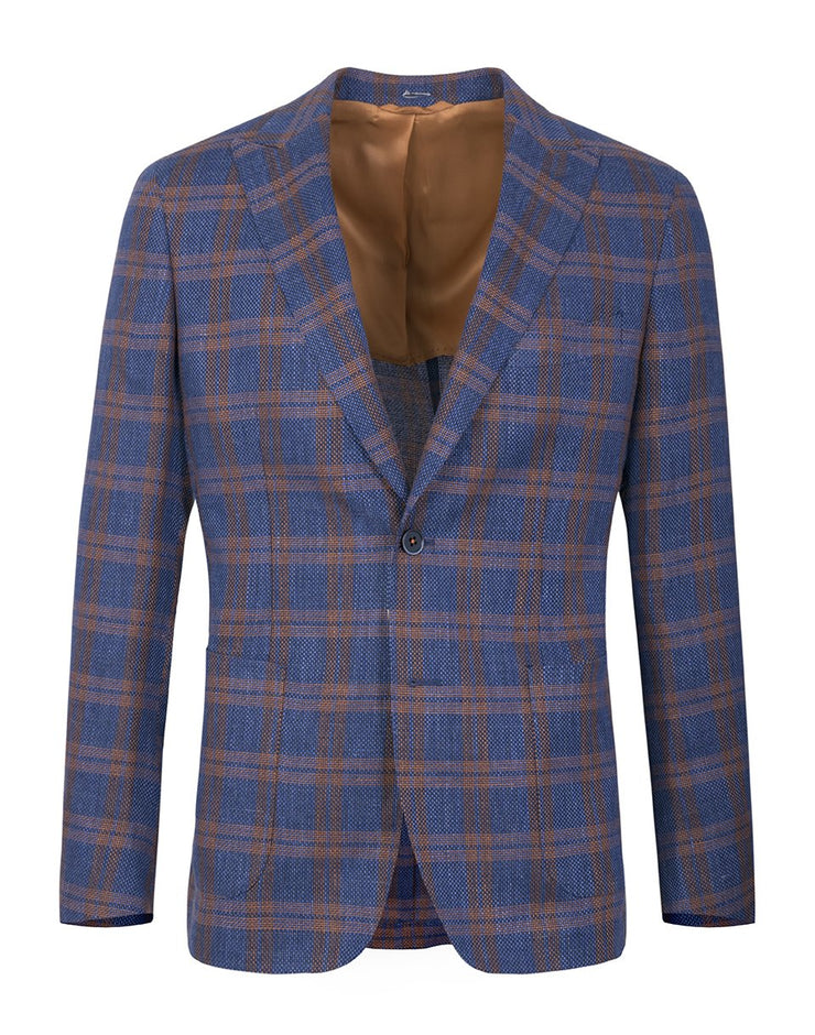 Smart Jacket Bleumarin In Carouri