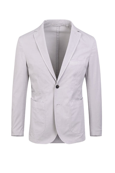 Light Gray Cotton Jacket