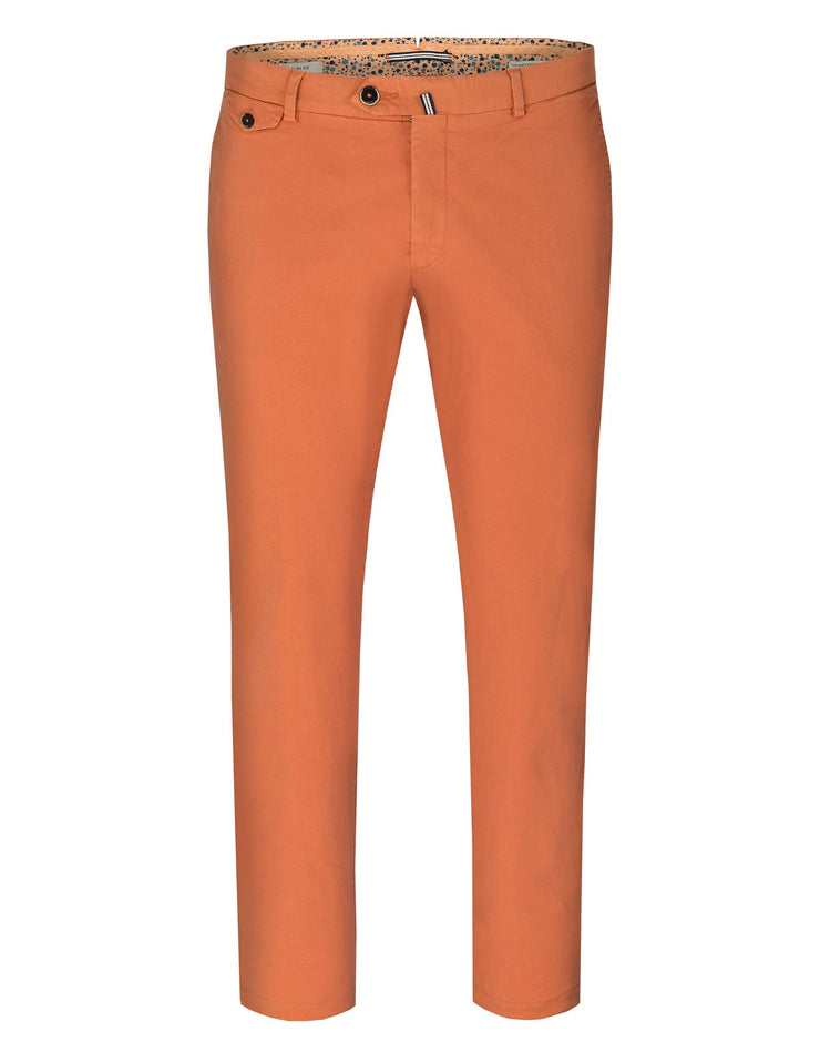 Pantaloni Chinos Orange