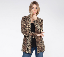 Load image into Gallery viewer, LEOPARD BLAZER