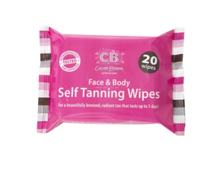 COCOA BROWN TAN WIPES