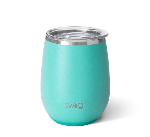 SWIG TURQUOISE STEMLESS