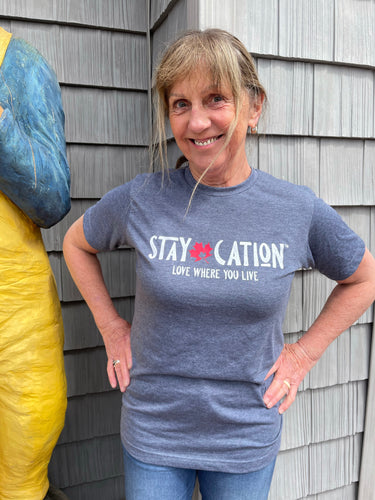 STAYCATION T SHIRT