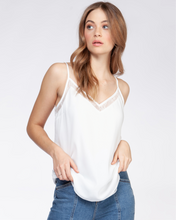 Load image into Gallery viewer, WHITE LACE CAMI
