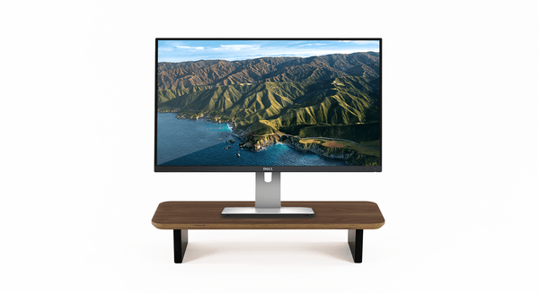 balolo, Setup Cockpit, Monitor Stand, Walnut Wood, Wood accessories, Made in Germany