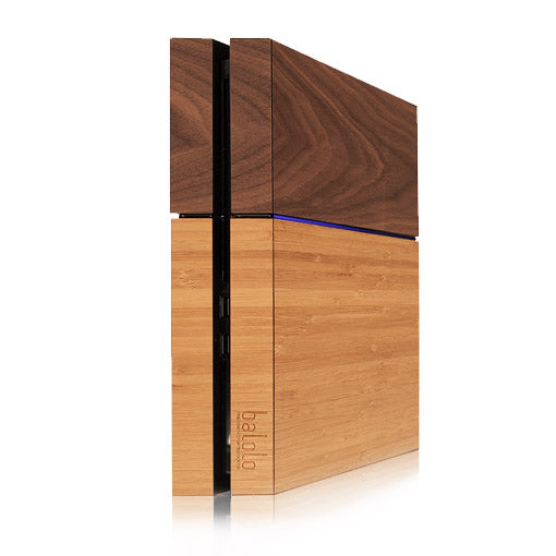 Sony Playstation 4 Holzveredelung - PS4 Echtholz Cover