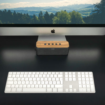 ANKER SoundCore Boost Walnut Wood Cover - balolo